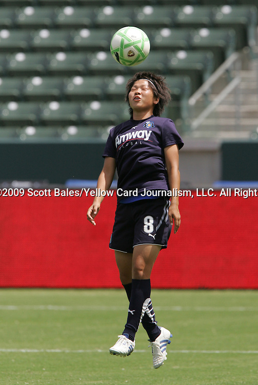 22 August 2009: LA's Aya Miyama (JPN). Sky Blue FC defeated the Los Angeles Sol 1-0 at the Home Depot Center in Carson, California in the inaugural WPS Championship game.