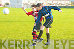 Park's Ryan Downey and Inter Kenmare's Fintan Kennedy.