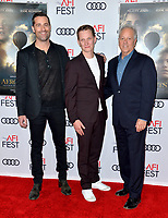 "LOS ANGELES, USA. November 20, 2019: Todd Lieberman, Tom Harper & David Hoberman at the gala screening for ""The Aeronauts"" as part of the AFI Fest 2019 at the TCL Chinese Theatre.<br /> Picture: Paul Smith/Featureflash"
