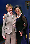 """***EXCLUSIVE COVERAGE*** Mary Tyler Moore visits the cast of """"Enter Laughing"""" at the York Theatre Company in New York City.<br />February 26, 2009<br />pictured: Mary Tyler Moore & Marla Schaffel"""