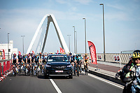 peloton before official start. <br /> <br /> 94th Schaal Sels 2019<br /> One Day Race: Merksem  >  Merksem  (UCI 1.1)<br /> ©kramon