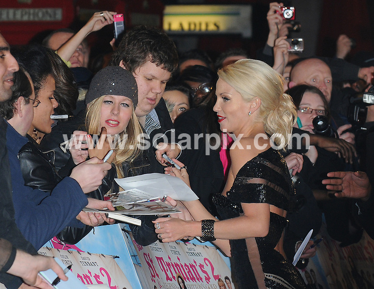 **ALL ROUND PICTURES FROM SOLARPIX.COM** **WORLDWIDE SYNDICATION RIGHTS** .Red carpet arrivals at the World premiere of St Trinians - The Legend of Fritton's Gold. Held at the Empire, Leicester Square, London, UK. 9 December 2009 ..This pic: Sarah Harding..JOB REF: 10369 SSD DATE: 09_12_2009 **MUST CREDIT SOLARPIX.COM OR DOUBLE FEE WILL BE CHARGED** **MUST NOTIFY SOLARPIX OF ONLINE USAGE** **CALL US ON: +34 952 811 768 or LOW RATE FROM UK 0844 617 7637**
