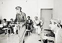 Irak 1991.Rèunion du Front du Kurdistan avec Hoshyar Zibari.Iraq 1991.Meeting of the Kurdish front with Hoshyar Zibari
