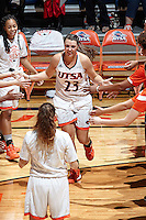 SAN ANTONIO, TX - OCTOBER 31, 2015: The University of Texas at San Antonio Roadrunners defeat the Trinity University Tigers 59-50 at the UTSA Convocation Center. (Photo by Jeff Huehn)