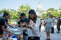 PETA holds its' annual Veggie Hot Dog lunch