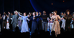 Amar Ramasar,  Alexander Gemignani, Jessie Mueller, Renee Fleming, Joshua Henry, Lindsay Mendez and Margaret Colin during the Opening Night Curtain Call for 'Carousel' at the Imperial Theatre on April 12, 2018 in New York City.