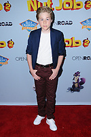 "05 August  2017 - Los Angeles, California - Casey Simpson.  World premiere of ""Nut Job 2: Nutty by Nature""  held at Regal Cinema at L.A. Live in Los Angeles. Photo Credit: Birdie Thompson/AdMedia"