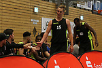 Essens Marco Rahn (Nr.15)  beim Spiel in der Pro B, ETB Wohnbau Baskets Essen - RheinStars Koeln.<br /> <br /> Foto &copy; PIX-Sportfotos *** Foto ist honorarpflichtig! *** Auf Anfrage in hoeherer Qualitaet/Aufloesung. Belegexemplar erbeten. Veroeffentlichung ausschliesslich fuer journalistisch-publizistische Zwecke. For editorial use only.
