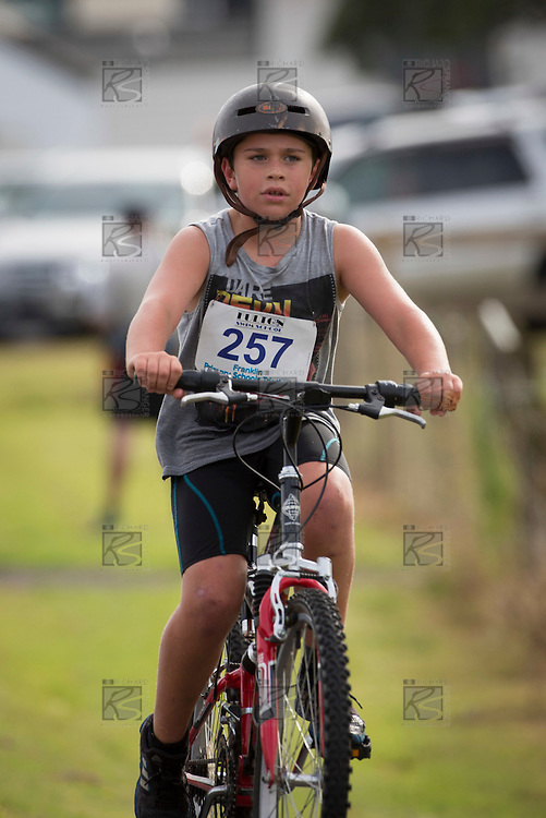 Fulton Swim School Primary Schools triathlon held at Clarks Beach on Friday March 14th 2014.