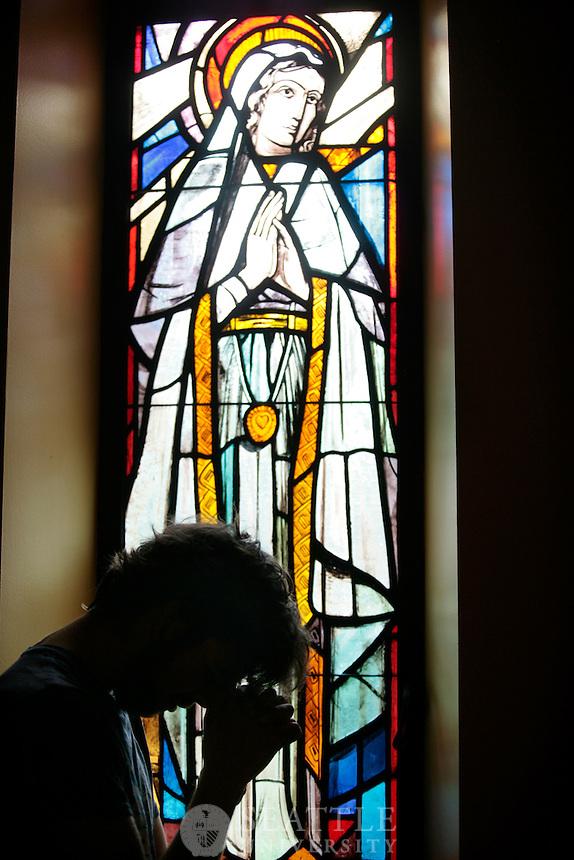 07162010- Seattle University, Administration building chapel, heath braun, jesuit identity, catholic identity