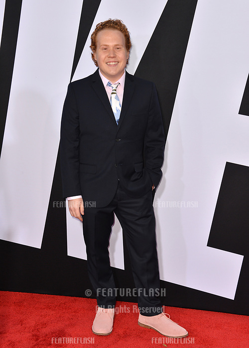 Jimmy Bellinger at the premiere for &quot;Blockers&quot; at the Regency Village Theatre, Los Angeles, USA 03 April 2018<br /> Picture: Paul Smith/Featureflash/SilverHub 0208 004 5359 sales@silverhubmedia.com
