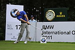 Pablo Martin (ESP) in action on the 17th tee during Day 1 of the BMW International Open at Golf Club Munchen Eichenried, Germany, 23rd June 2011 (Photo Eoin Clarke/www.golffile.ie)