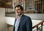 Professor Daniel Morales, a newly tenured faculty member in the College of Law, is a scholar and theorist of immigration law. He also serves on the President's Diversity Council at DePaul University. (DePaul University/Jamie Moncrief)
