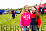 Róisín Maher & Lucy Horgan from Duagh at the Cahersiveen Races on Sunday.  Róisín's father Batsy Maher's horse 'Who's Your Daddy' took 1st place in the 12 Furlong Open Race at the meeting.
