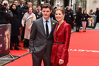 """Rosamund Pike and Sam Riley<br /> arriving for the """"Radioactive"""" premiere at the Curzon Mayfair, London.<br /> <br /> ©Ash Knotek  D3560 07/03/2020"""