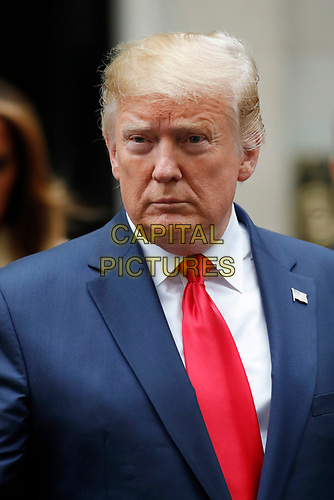 LONDON, ENGLAND - JUNE 04: Donald Trump and First Lady Melania Trump in 10 Downing Street, during the second day of his State Visit on June 4, 2019 in London, England. <br /> CAP/GOL<br /> ©GOL/Capital Pictures