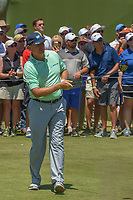 Ernie Els (RSA) watches his tee shot on 1 during round 1 of the AT&T Byron Nelson, Trinity Forest Golf Club, at Dallas, Texas, USA. 5/17/2018.<br /> Picture: Golffile | Ken Murray<br /> <br /> <br /> All photo usage must carry mandatory copyright credit (© Golffile | Ken Murray)