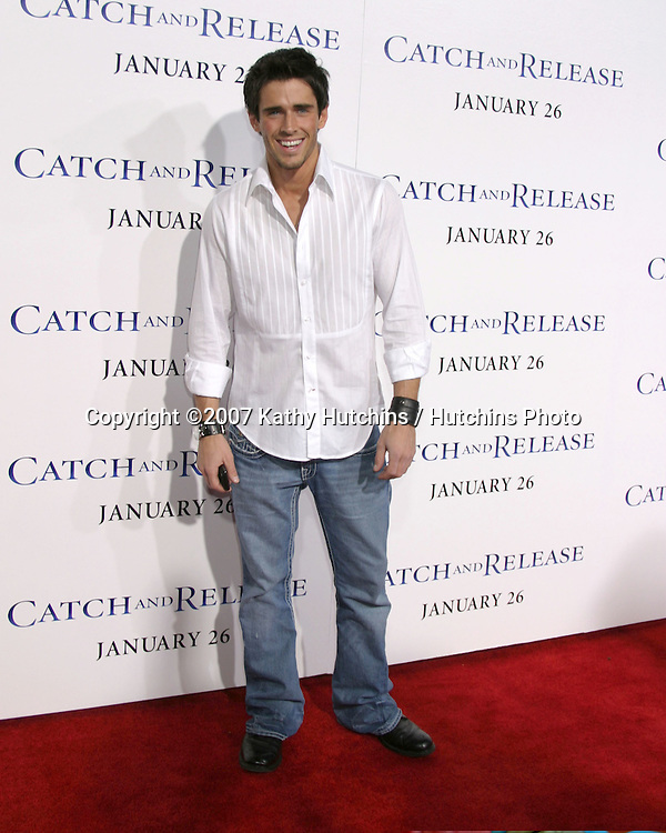 "Brandon Beemer.""Catch & Release"" Premiere.The Egyptian Theater.Los Angeles, CA.January 22, 2007.©2007 Kathy Hutchins / Hutchins Photo."