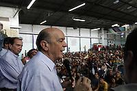 ATENÇÃO EDITOR: FOTO EMBARGADA PARA VEÍCULOS INTERNACIONAIS. SAO PAULO, SP, 20 DE OUTUBRO DE 2012.  ELEIÇAO 2012 SAO PAULO - 2 TURNO -JOSE SERRA.  O candidato do PSDB a prefeitura de Sao Paulo, Jose Serra, durante oa assembléia mensal do Movimento Universitario na manhã deste domingo,na Lapa, zona oeste da capital paulista. FOTO ADRIANA SPACA - BRAZIL PHOTO PRESS