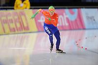 SCHAATSEN: BERLIJN: Sportforum, 06-12-2013, Essent ISU World Cup, 500m Ladies Division B, Marrit Leenstra (NED), ©foto Martin de Jong