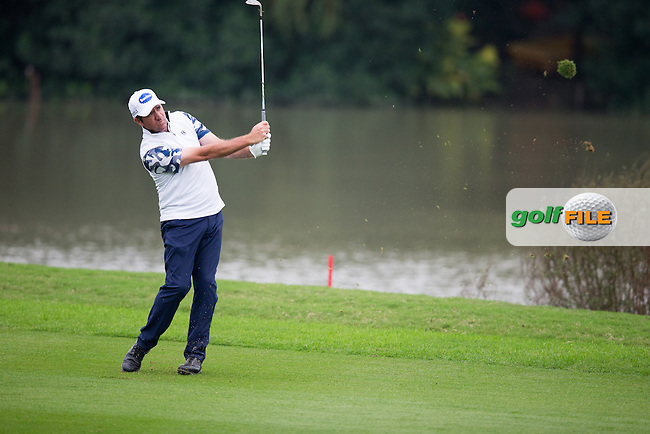 Scott Send (AUS) on the 2nd during round 2 at the WGC-HSBC Champions, Sheshan International GC, Shanghai, China PR.  28/10/2016<br /> Picture: Golffile | Fran Caffrey<br /> <br /> <br /> All photo usage must carry mandatory copyright credit (&copy; Golffile | Fran Caffrey)