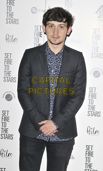 LONDON, ENGLAND - OCTOBER 28: Craig Roberts attends the &quot;Set Fire To The Stars&quot; UK film premiere, The Ham Yard Hotel, Denman St., on Tuesday October 28, 2014 in London, England, UK. <br /> CAP/CAN<br /> &copy;Can Nguyen/Capital Pictures