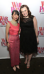 Julie Wong and Christina Bennet attends the Broadway Opening Night Performance of 'War Paint' at the Nederlander Theatre on April 6, 2017 in New York City
