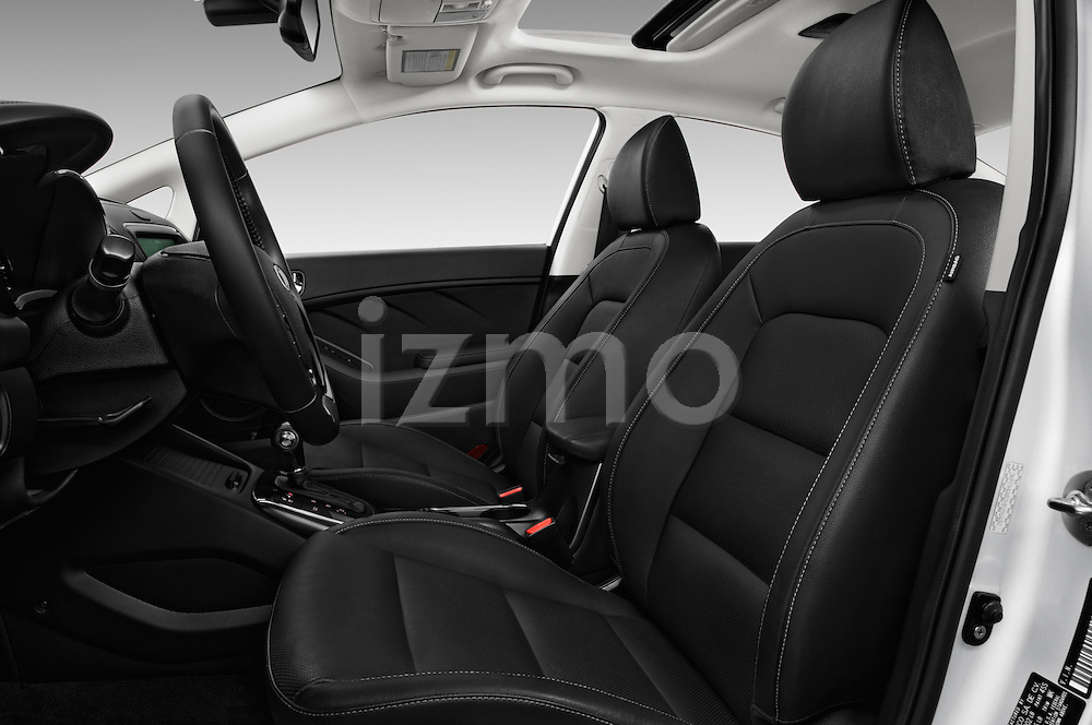 Front seat view of 2017 KIA Forte EX-AT 4 Door Sedan Front Seat  car photos