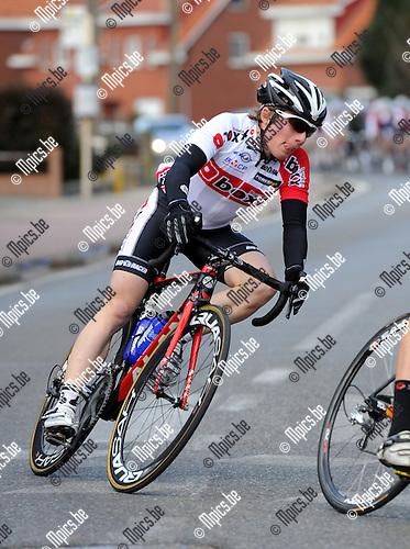 2012-02-25 / Wielrennen / seizoen 2012 / Nino Honigh (Limmen)..Foto: Mpics.be