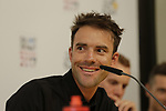 Amael Moinard (FRA) BMC Racing Team press conference before the 104th edition of the Tour de France 2017, Dusseldorf, Germany. 29th June 2017.<br /> Picture: Eoin Clarke | Cyclefile<br /> <br /> All photos usage must carry mandatory copyright credit (&copy; Cyclefile | Eoin Clarke)