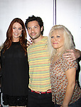 One Life To Live Melissa Archer, Jason Tam, Ilene Kristen at My Big Gay Italian Wedding on March 18, 2011 (also 3-17- & 3-20) at St. Luke's Theatre, New York City, New York. (Photo by Sue Coflin/Max Photos)