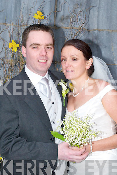 Michelle, daughter of Bernie and Terry Ryan, 37 Dromhall Park, Killarney, and Dave, son of Ann and Jim Soden, Santry, Dublin, who were married on Friday in St Marys Cathedral, Killarney, by Fr Kevin McNamara. Best man was Bryan OConnor and groomsman was Sean McDermott. Bridesmaids were Ann Culloty and Louise Grant. Junior bridesmaid was Doireann ORiordan. The reception was held at The Castleross Hotel, Killarney. The couple will reside in Dublin..