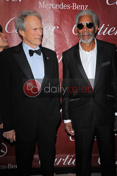 Clint Eastwood and Morgan Freeman<br />