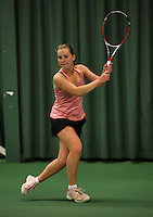 Rotterdam, The Netherlands, 15.03.2014. NOJK 14 and 18 years ,National Indoor Juniors Championships of 2014, <br /> Photo:Tennisimages/Henk Koster