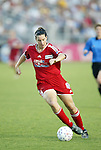 19 June 2003: Birgit Prinz of Germany and the Carolina Courage. The WUSA World Stars defeated the WUSA American Stars 3-2 in the WUSA All-Star Game held at SAS Stadium in Cary, NC.