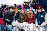 Kerry and Galway fans pictured at the Allianz Football League Kerry v Galway, at Austin Park, Tralee, on Sunday last.