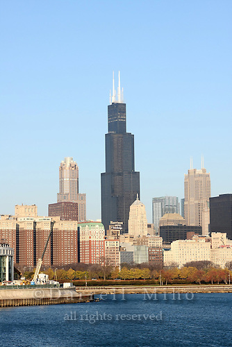 Nov. 08, 2008; Chicago, IL - Sears Tower...Photo credit: Darrell Miho