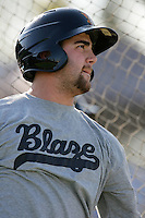 May 26, 2010: Tommy Mendonca of the Bakersfield Blaze during game against the Inland Empire 66'ers at Arrowhead Credit Union Park in San Bernardino,CA.  Photo by Larry Goren/Four Seam Images