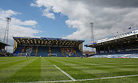 General view of the Stadium during the Sky Bet League 2 match between Portsmouth and Wycombe Wanderers at Fratton Park, Portsmouth, England on 23 April 2016. Photo by Andy Rowland.