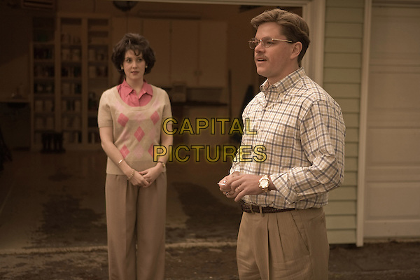 MELANIE LYNSKEY & MATT DAMON .in The Informant!.*Filmstill - Editorial Use Only*.CAP/FB.Supplied by Capital Pictures.