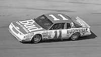 Darrell Waltrip 11 Chevrolet action Daytona 500 at Daytona International Speedway in Daytona Beach, FL in February 1986. (Photo by Brian Cleary/www.bcpix.com) Daytona 500, Daytona International Speedway, Daytona Beach, FL, February 16, 1986.  (Photo by Brian Cleary/www.bcpix.com)