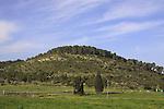 Israel, Shephelah, Tel Azekah overlooks the Valley of Elah