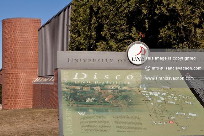 Saint Francis University Campus Map.Unb Campus Map Stock Photos By Francis Vachon