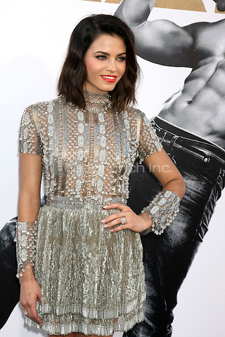 """LOS ANGELES, CA - JUNE 25: Jenna Dewan-Tatum  at the """"Magic Mike XXL"""" Premiere at the TCL Chinese Theater on June 25, 2015 in Los Angeles, California. Credit: David Edwards/MediaPunch"""