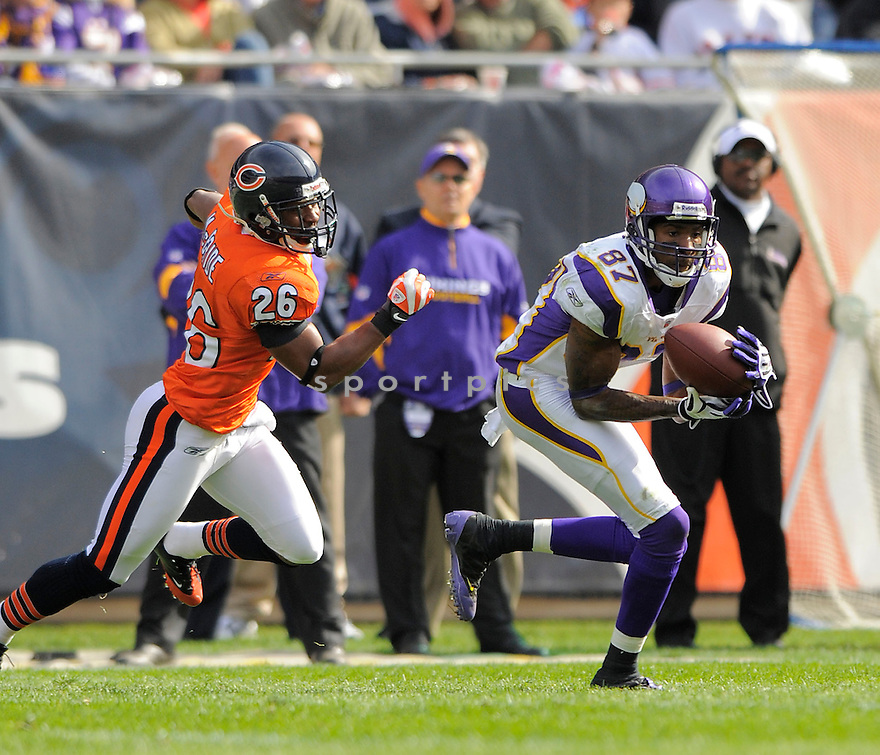 BERNARD BERRIAN, of the Minnesota Vikings  in action against the Chicago Bears during the Vikings game in Chicago, IL  on October 19, 2008... The Buccaneers won the game 48-41