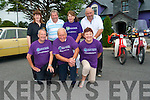Launching the 5th annual Kingdom Veteran Vintage Classic Car Club (KVVCCC) Vintage Car and Honda Run for the The Rosemary Alzheimer Day Care Centre in Tralee. <br /> Front L-R George Glover, John Joe Breen and Joan Glover. <br /> Back L-R Mary Jones (O'Riada's), Dan O'Connor, Lucy Breen and Peter O'Connor.