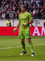 Torwart Emiliano Martinez (Arsenal London) - 19.09.2019:  Eintracht Frankfurt vs. Arsenal London, UEFA Europa League, Gruppenphase, Commerzbank Arena<br /> DISCLAIMER: DFL regulations prohibit any use of photographs as image sequences and/or quasi-video.