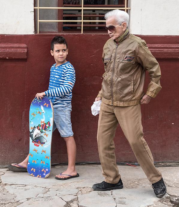Generations connecting, La Habana Vieja