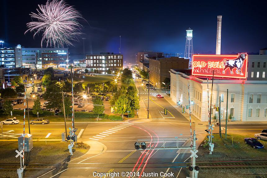 Durham Bulls Fireworks Jc 20140606 Justin Cook Documentary Photography
