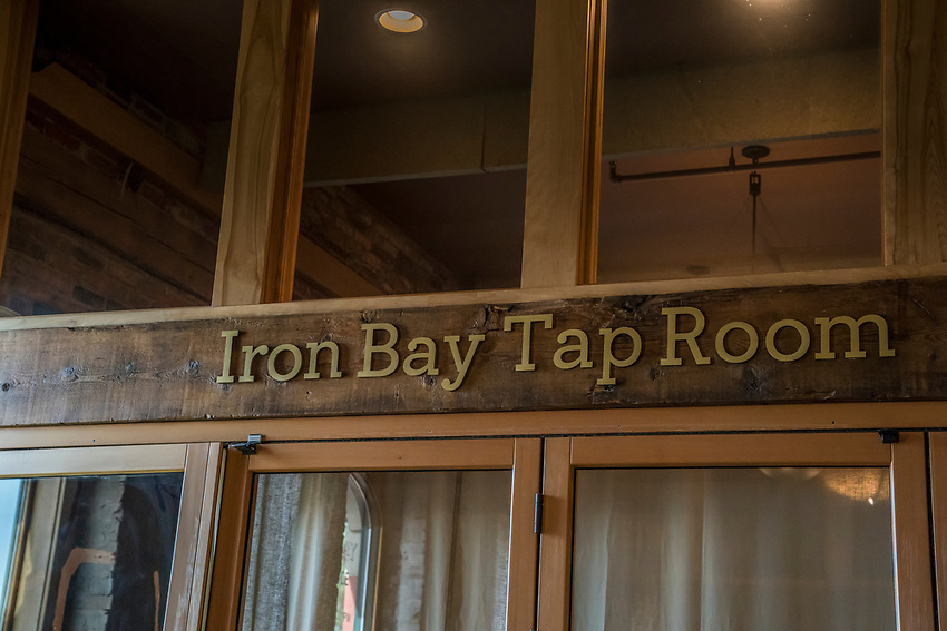 Iron Bay Restaurant in downtown Marquette, Michigan.